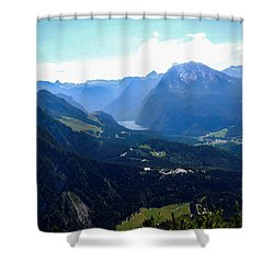 Eagle's Nest Vista Shower Curtain