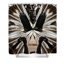 Eagle's Song Shower Curtain