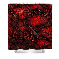 Shower Curtain featuring the digital art Eanadan by Jeff Iverson