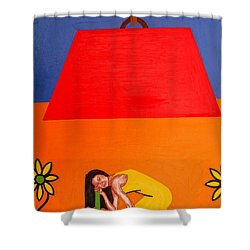 Ear To The Ground Shower Curtain by Patrick J Murphy