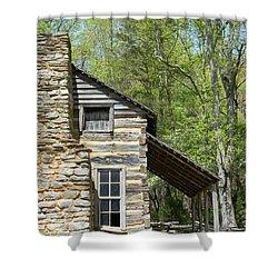 Early Appalachian Home Shower Curtain