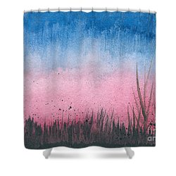 Early Dawn Shower Curtain