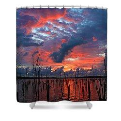 Early Dawns Light Shower Curtain by Roger Becker