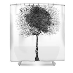 Early December Shower Curtain