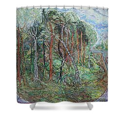 Early May Shower Curtain