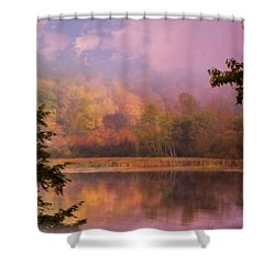 Early Morning Beauty Shower Curtain