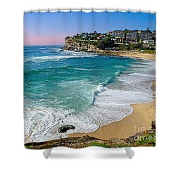 Early Morning Bronte Beach By Kaye Menner Shower Curtain