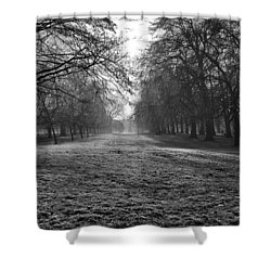 Early Morning In Hyde Park Shower Curtain