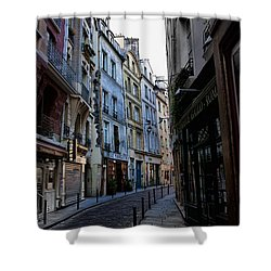 Early Morning In The Latin Quarter Shower Curtain by Evie Carrier
