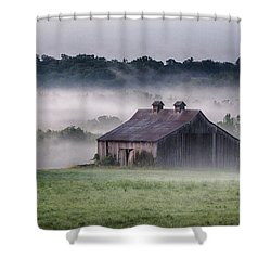 Early Morning In The Mist Standard Shower Curtain