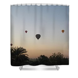Early Morning Rising Shower Curtain by John Malone