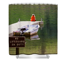 Early One Morning On Patterson Lake Shower Curtain by Omaste Witkowski