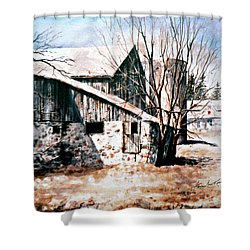 Early Spring Shower Curtain by Hanne Lore Koehler
