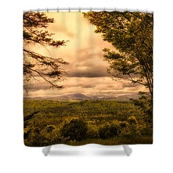 Early Spring Rain Shower Curtain by Bob Orsillo