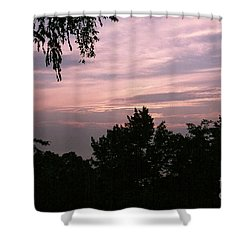 Early Sunrise In Central Illinois Shower Curtain