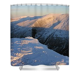 Shower Curtain featuring the photograph Early Winter Cairngorms by Phil Banks