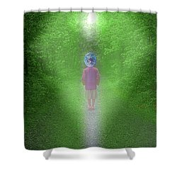 Earth Conscious Shower Curtain