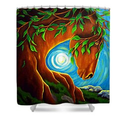 Earth Elder Shower Curtain