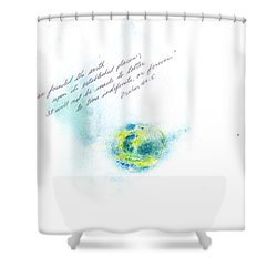 Earth Forever Shower Curtain by B L Qualls