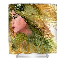 Earth Maiden Shower Curtain