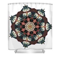 Earth Nest Shower Curtain by Lisa Lipsett
