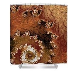 Earth Rhythms Shower Curtain by Heidi Smith