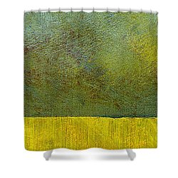Earth Study Two Shower Curtain