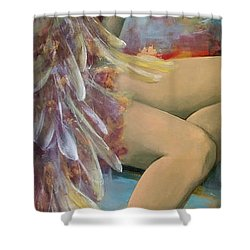 Earthly Feelings Shower Curtain by Dorina  Costras