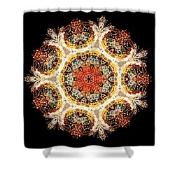 Earthmind II Shower Curtain by Lisa Lipsett