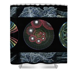 Earth's Beginnings Shower Curtain
