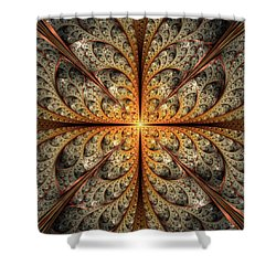East Gates Shower Curtain by Anastasiya Malakhova