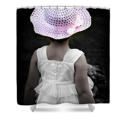 Shower Curtain featuring the photograph Easter Angel by Jeanette C Landstrom
