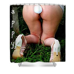 Easter Card 6 Shower Curtain