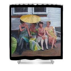 Easter Posies Shower Curtain