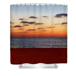 Shower Curtain featuring the photograph Easter Sunset by Amar Sheow