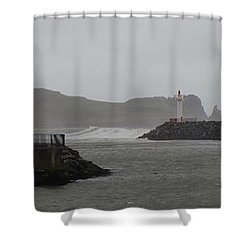 Easterly Swell Shower Curtain