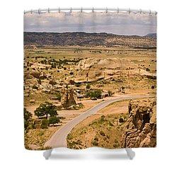Eastern Mesa View Shower Curtain
