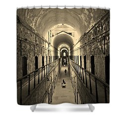 Eastern State Of Mind Shower Curtain
