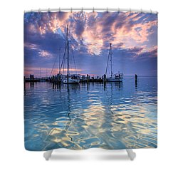 Eastport Sunrise Shower Curtain