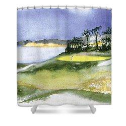Eastward Ho Country Club Shower Curtain by Joseph Gallant