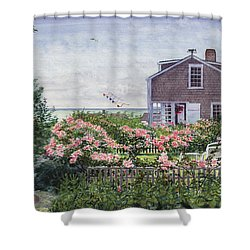 Eastward Look Shower Curtain