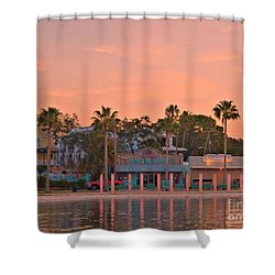Easy Like Sunday Sunrise Shower Curtain