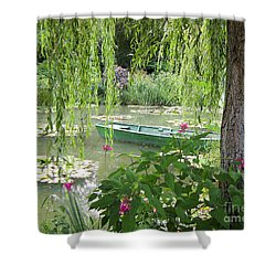 Shower Curtain featuring the photograph Easy Living by Victoria Harrington