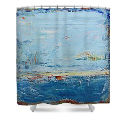Easy Peaceful Feeling Shower Curtain