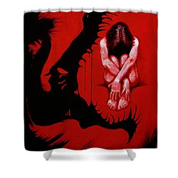 Eater Shower Curtain