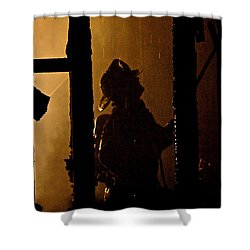 Truck Company Ops. Shower Curtain