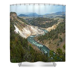 Ebb And Flow Shower Curtain by Lauren Leigh Hunter Fine Art Photography