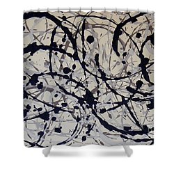Ebb And Flow Shower Curtain by Susan Williams