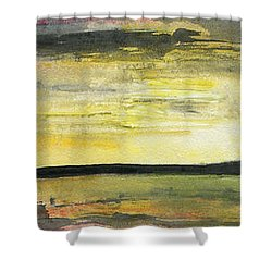 Ebb Of Sol Shower Curtain