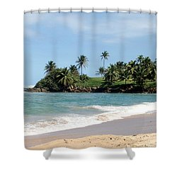 Ebb Tide Shower Curtain by Deborah  Crew-Johnson